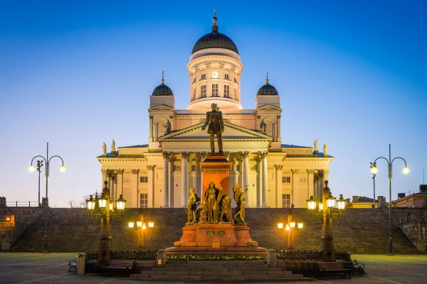 finland summer helsinki cathedral istk