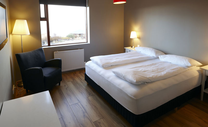 fosshotel hellnar double room