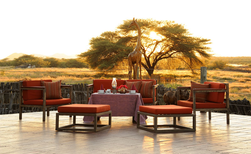 frans indongo house drinks at sunset