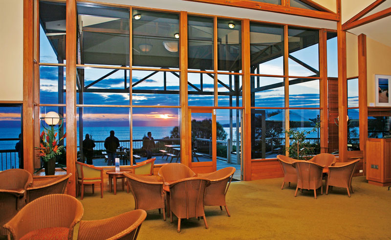 freycinet lodge lounge
