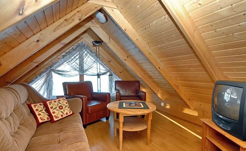 gljufur cottages loft