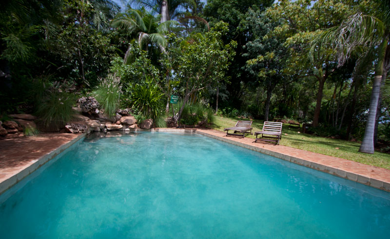 gorges lodge pool