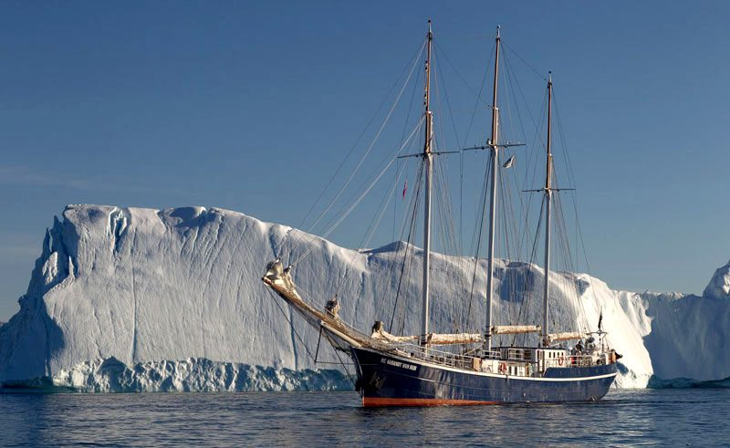 greenland disko bay sailing ship oc