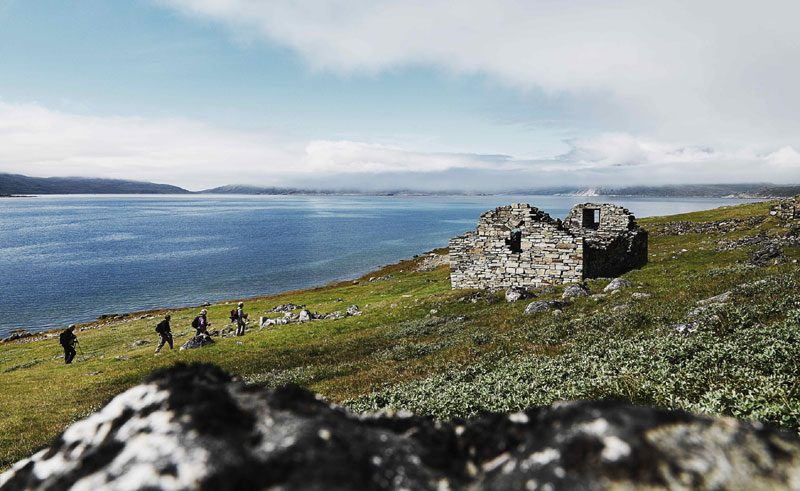 greenland south hvalsey church ruins vg