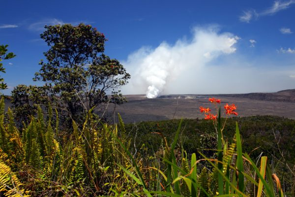 hawaii big island kilauea volcano national park istk