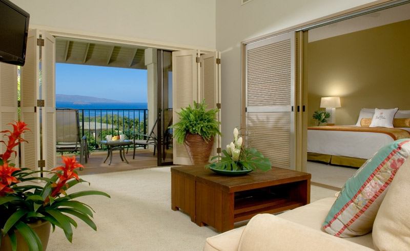 hawaii maui hotel wailea ocean view bedroom