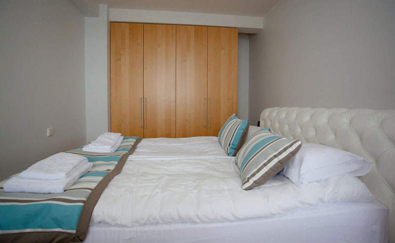 hildibrand hotel double bedroom with triple wardrobe