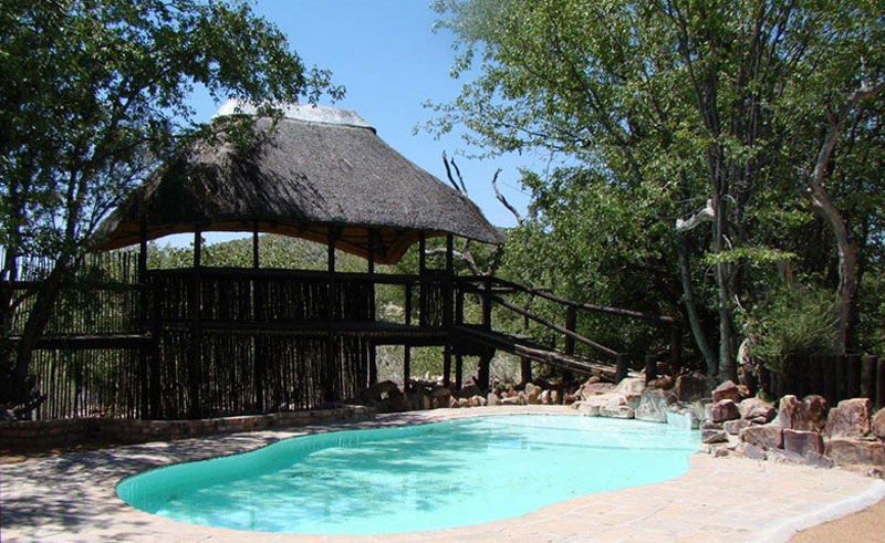 hobatere lodge pool