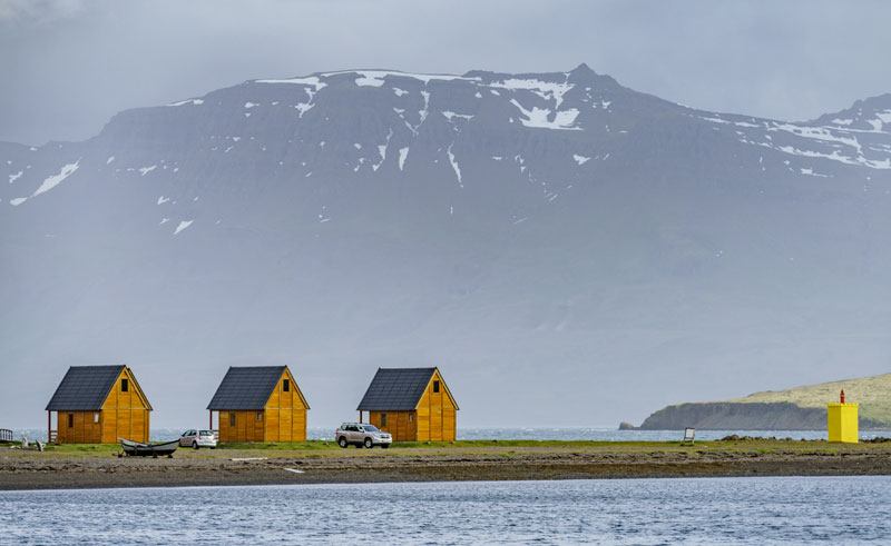iceland east fjords eskifjordur mjoeyri cottages rth