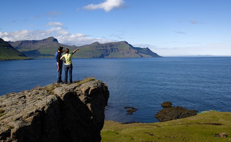 iceland east fjords viewpoint rth
