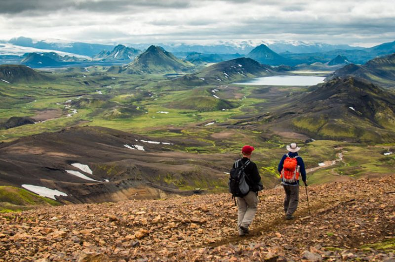 iceland highlands laugavegur hiking trail img