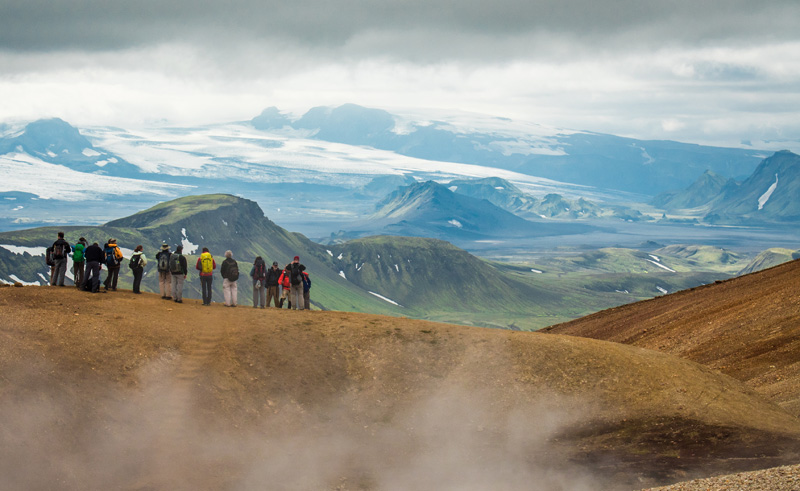 iceland highlands laugavegurinn group jan zelina img