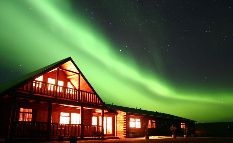 iceland hotel ranga northern lights