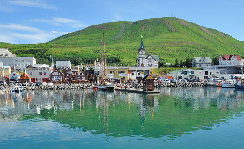 iceland north east husavik village do