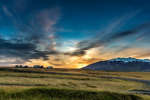 iceland snaefellsnes glacier lodge view rth