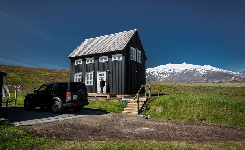 iceland snaefellsnes hellnar glacier lodge house rth