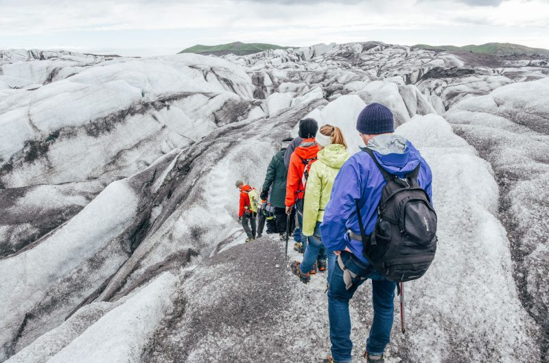 iceland south west glacier hiking group gt