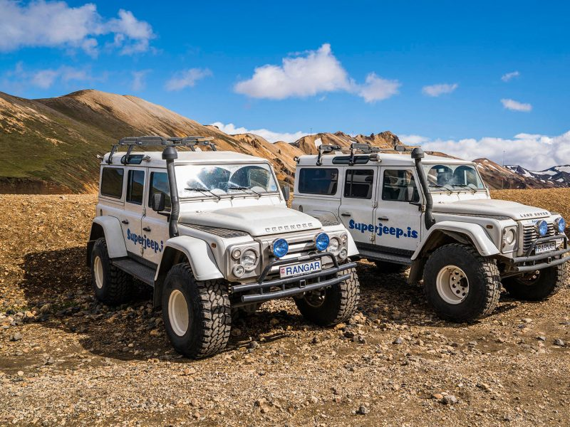iceland south west superjeeps daytours
