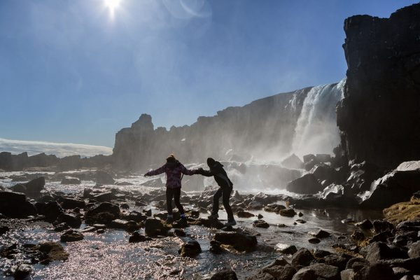 iceland south west thingvellir oxararfoss rth