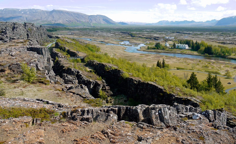 iceland south west thingvellir pixa