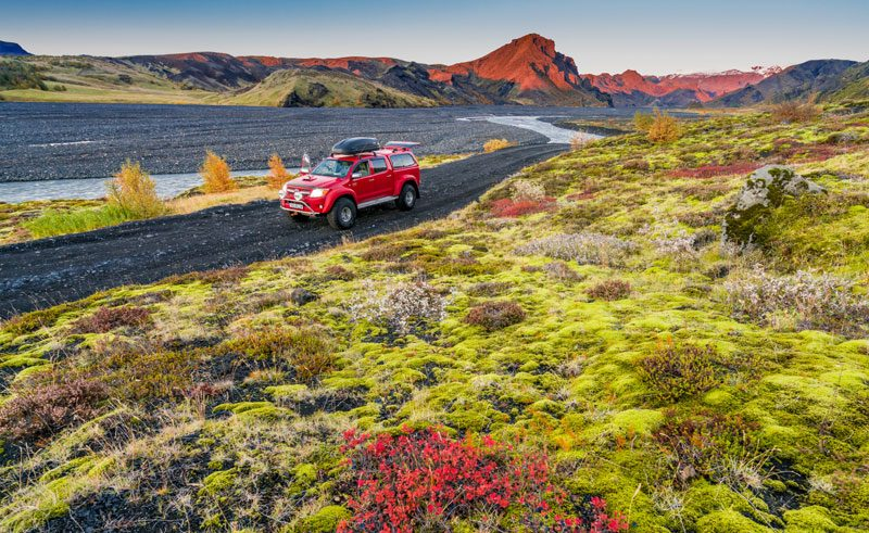 iceland south west thorsmork exploring by 4WD rth