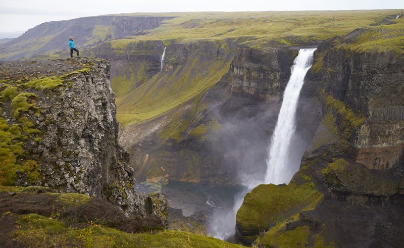 iceland south west thorsmork valley haifoss hr