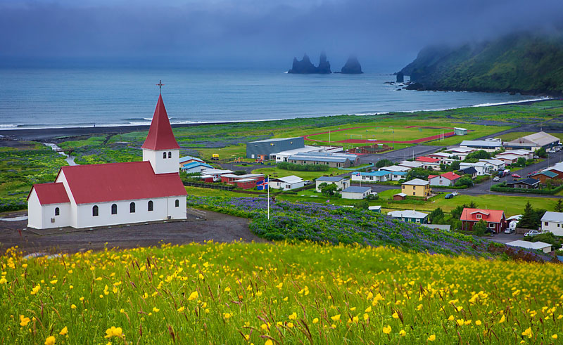 iceland south west vik view is