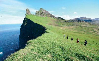 iceland west fjords hiking rth