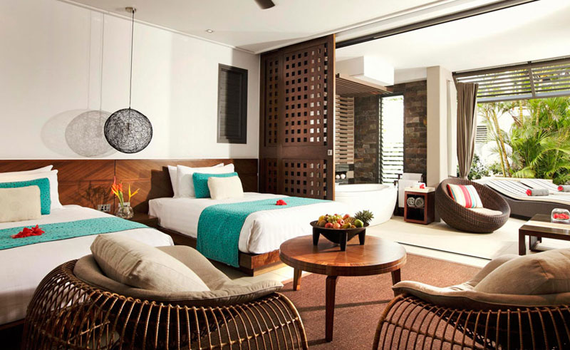 intercontinental fiji guest room