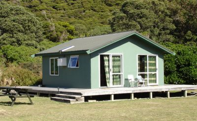 kapiti nature lodge cabin