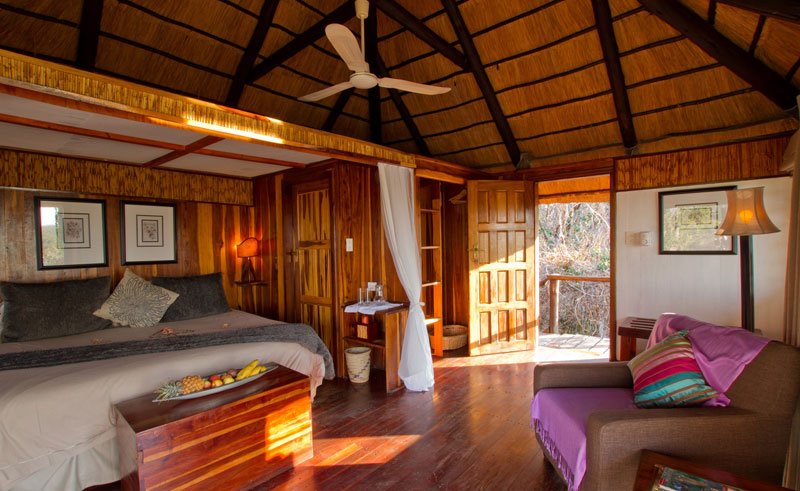 kaza safari lodge bedroom interior