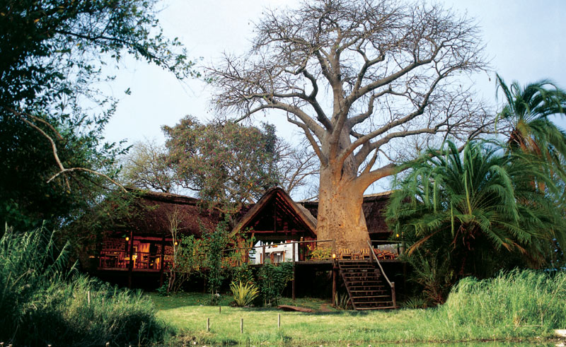 kaza safari lodge exterior