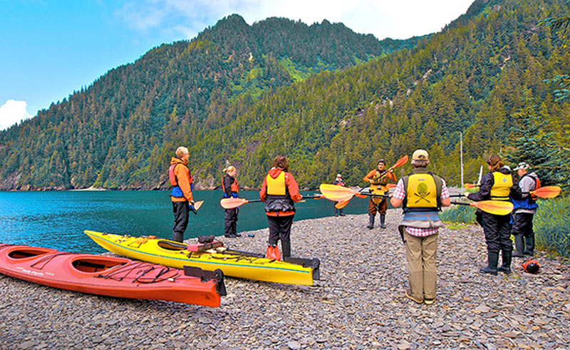 kenai fjords wilderness lodge kayak
