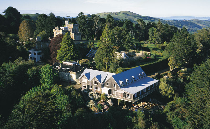 larnach lodge exterior