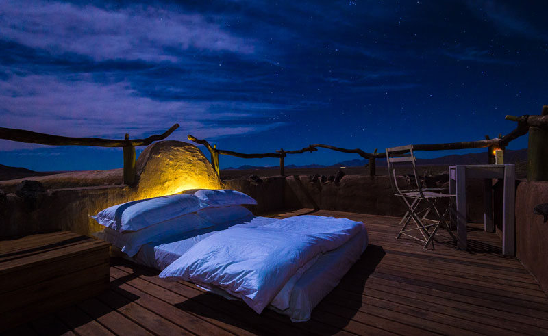 little kulala bed under the stars