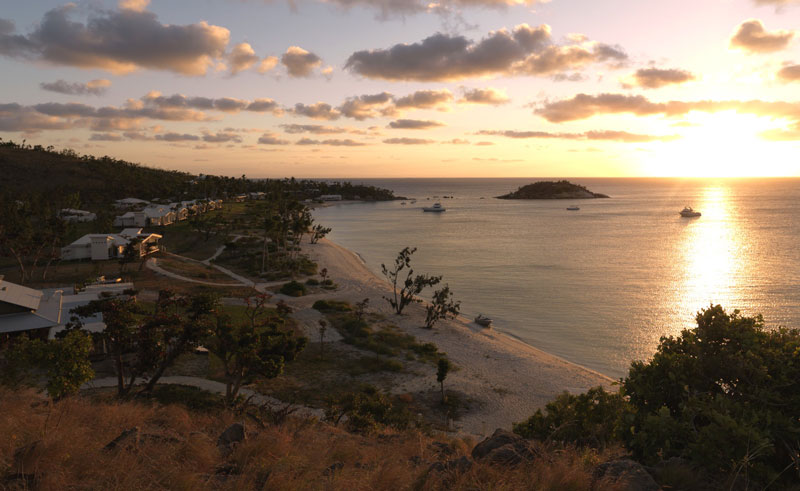 lizard island resort sunset