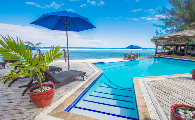 manuia beach resort pool