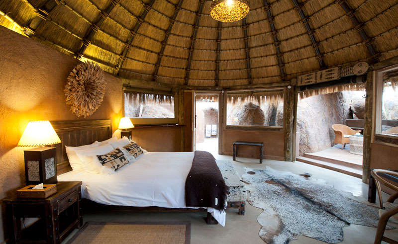 mowani mountain camp bedroom interior