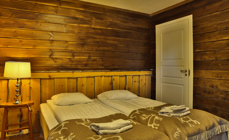 nellim wilderness hotel room