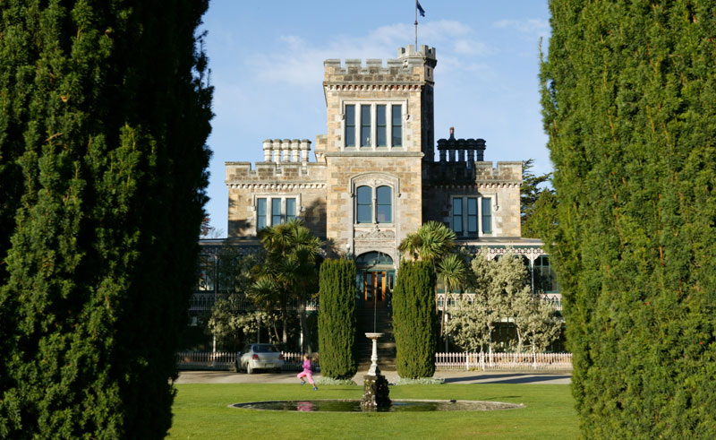 new zealand dunedin larnach castle td