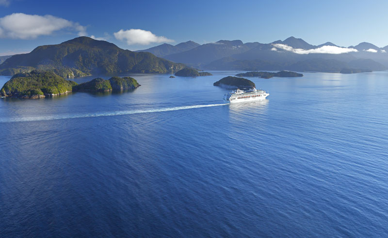 new zealand fiordland cruise tnz