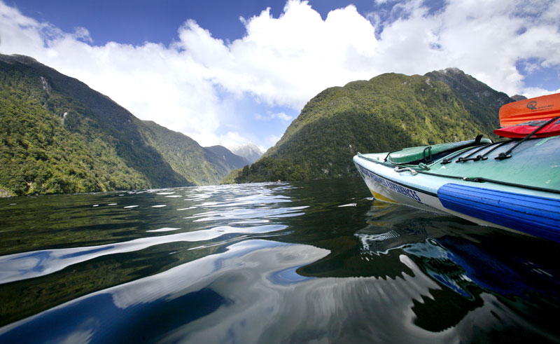 new zealand fiordland doubtful sound kayak df