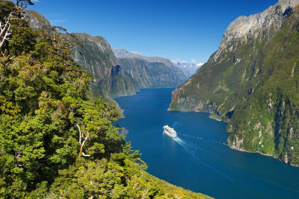 new zealand fiordland milford sound tnz