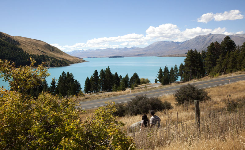 new zealand lake tekapo scenic view cct