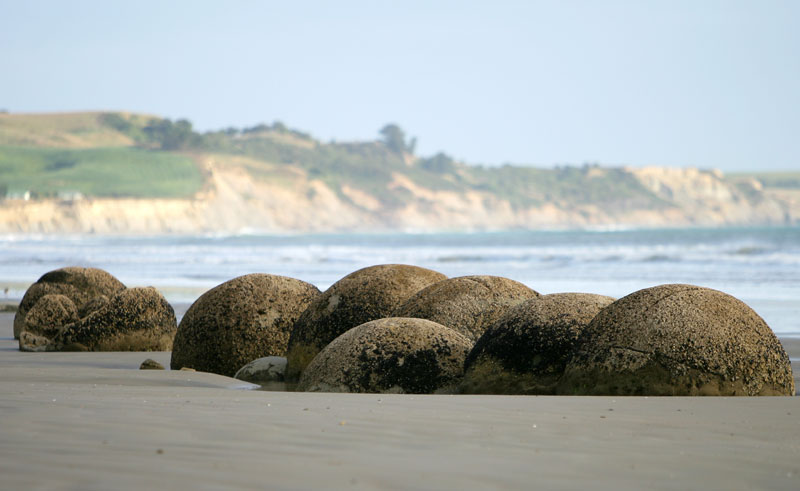 new zealand moeraki boulders waitaki district tw