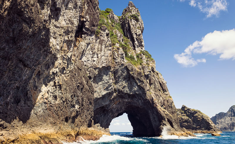 new zealand northland hole in the rock bay of islands is