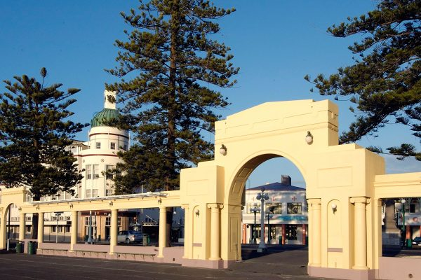 new zealand pacific coast napier arch hbt