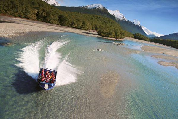 new zealand queenstown jet boat dart river