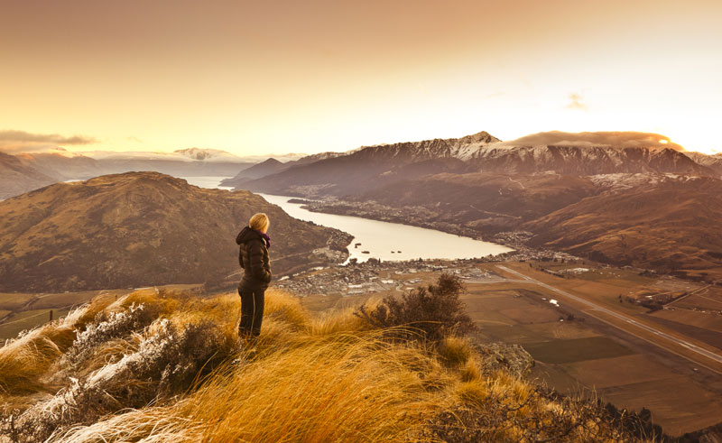 new zealand queenstown view winter slt