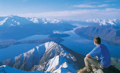 new zealand southern lakes wanaka hiker lwt